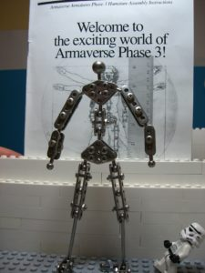 Armature for stop motion