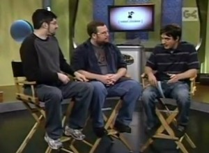 interview by Kevin Rose of G4TV with Douglas Goldstein and Tom Root