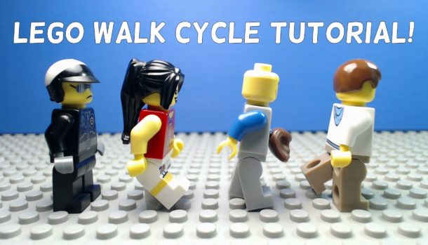 Stop Motion Walk Cycles