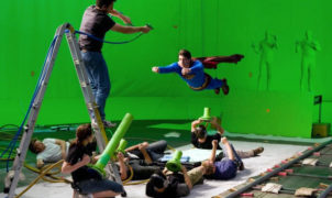 Chromakey Superman