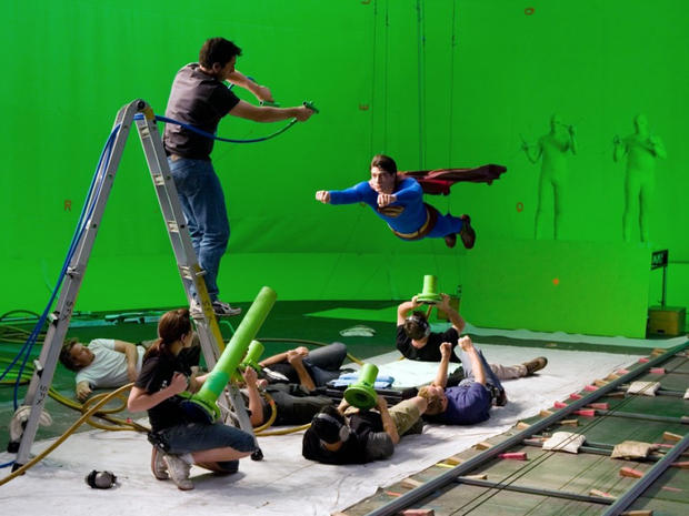 Chromakey (Greenscreen) Superman