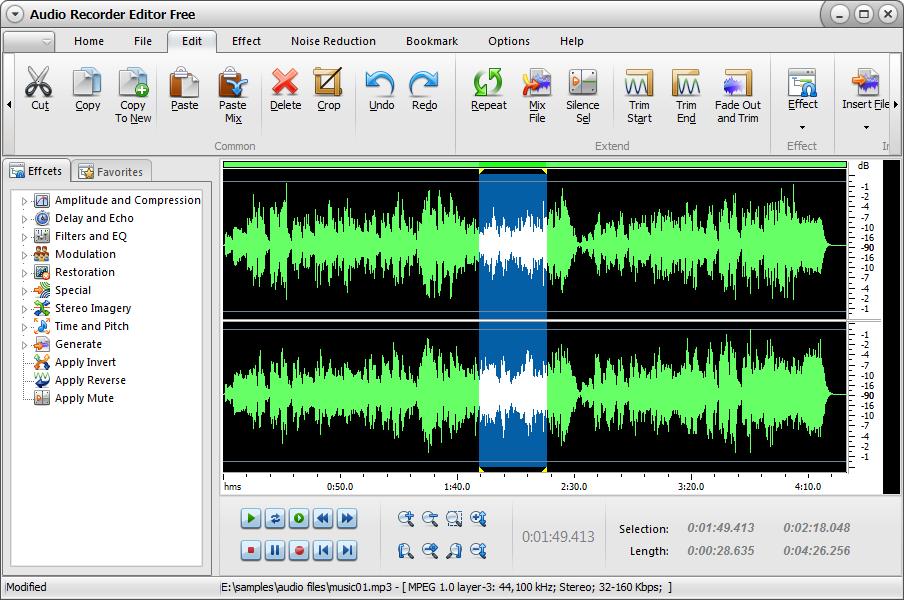 Wavepad Editor